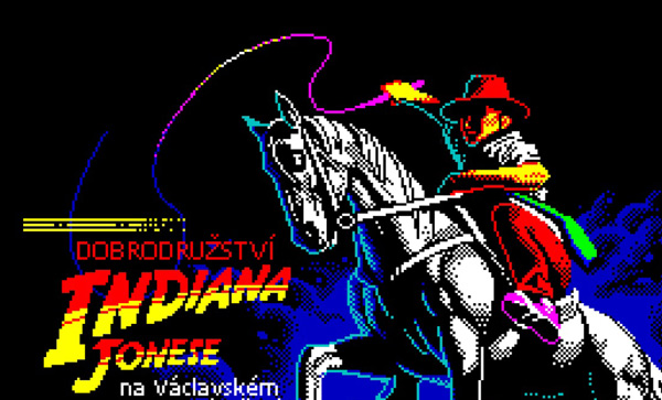Indiana Jones na Václavském náměstí